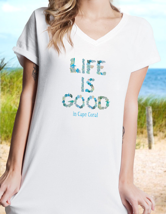 Women's Sleep Tees/Beach Cover-ups