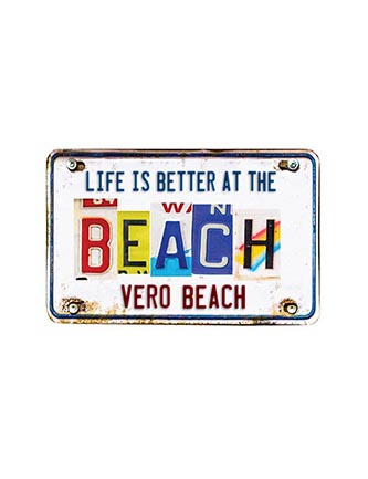 Life is better at the beach (Name Drop)