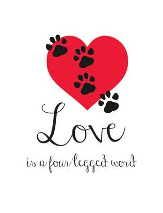 Love is a four legged word
