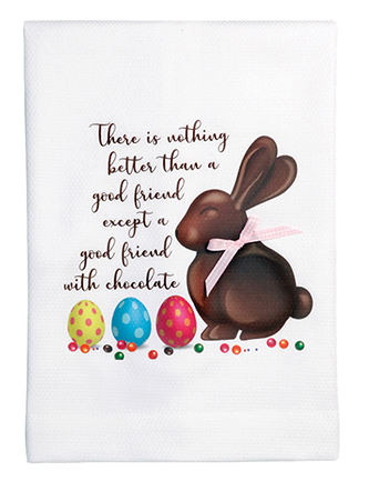 There is nothing better than a good friend except a good friend with chocolate