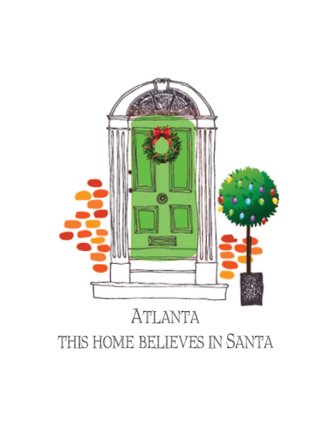 (Name Drop) This home believes in Santa