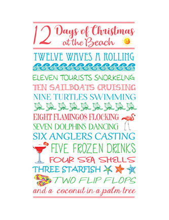 12 Days of Christmas at the Beach