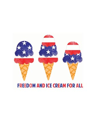 Freedom and Ice Cream for all