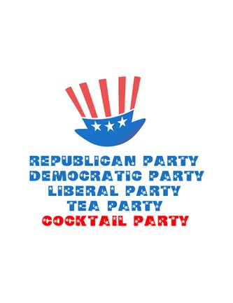 Republican Party Democratic Party Cocktail Party