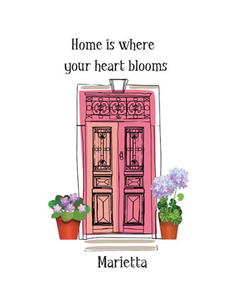 Home is where your heart blooms (Name Drop)