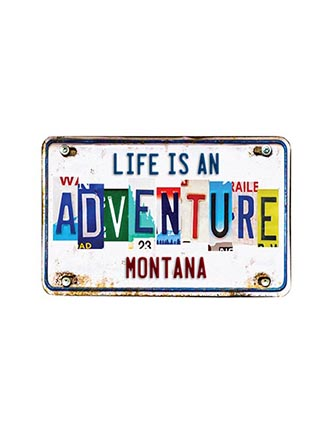 Life is an adventure (Name Drop)