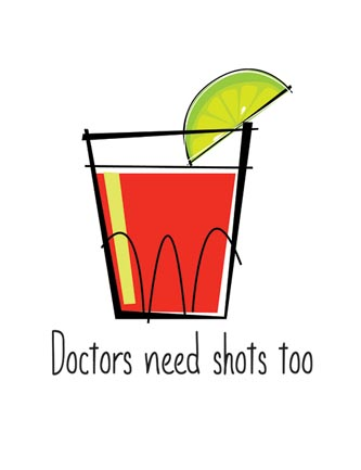 Doctors need shots too