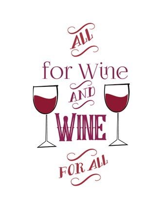 All for wine and wine for all