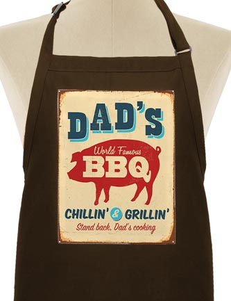 Dad's World Famous BBQ Chillin' & Grillin'