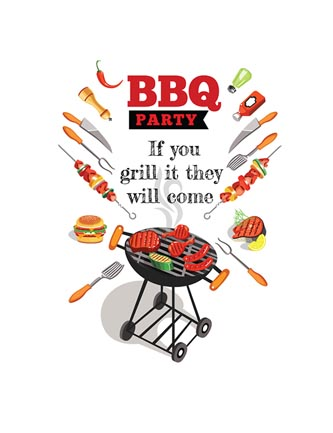 BBQ Party If you grill it they will come