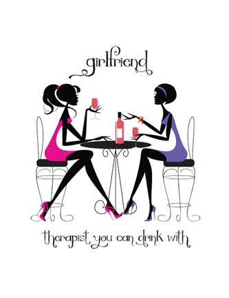 Girlfriend Therapist you can drink with