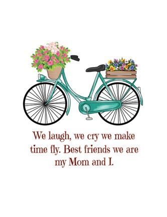 We laugh we cry we make time fly