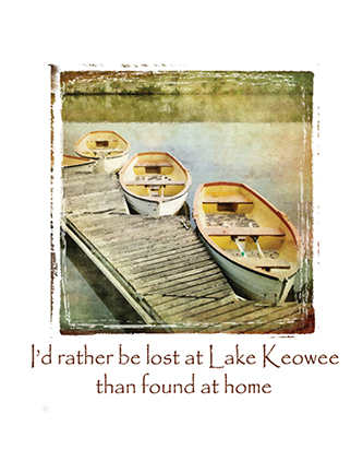 I'd rather be lost at (Name Drop) than found at home