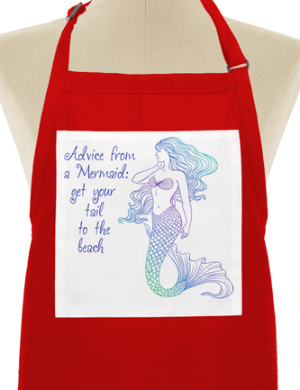 Advice from a Mermaid: get your tail to the beach